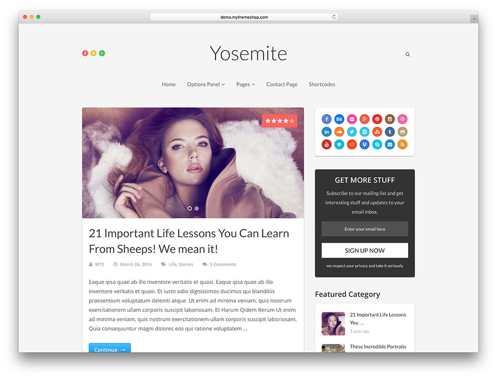yosemite Affiliate Marketing WP Themes