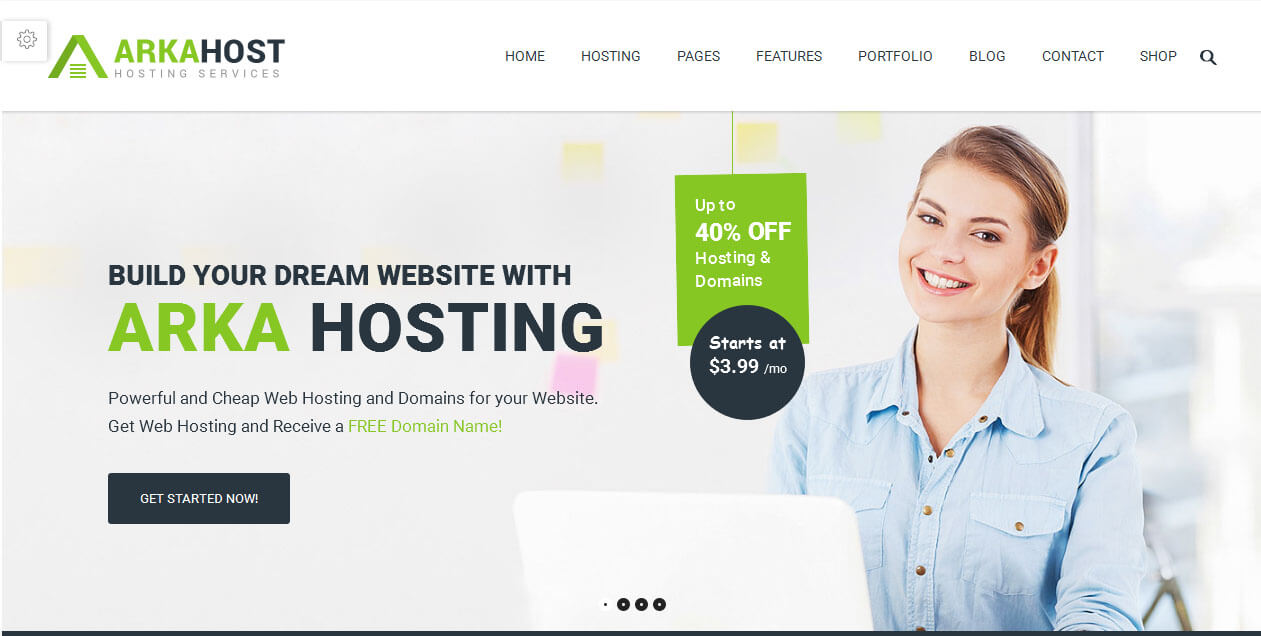 Arka WordPress Theme