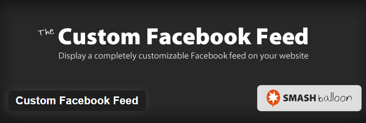 Custom Facebook Feed plugins