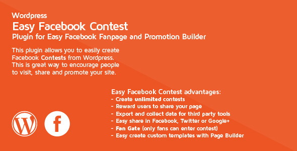 Facebook Contest Social Media Plugins