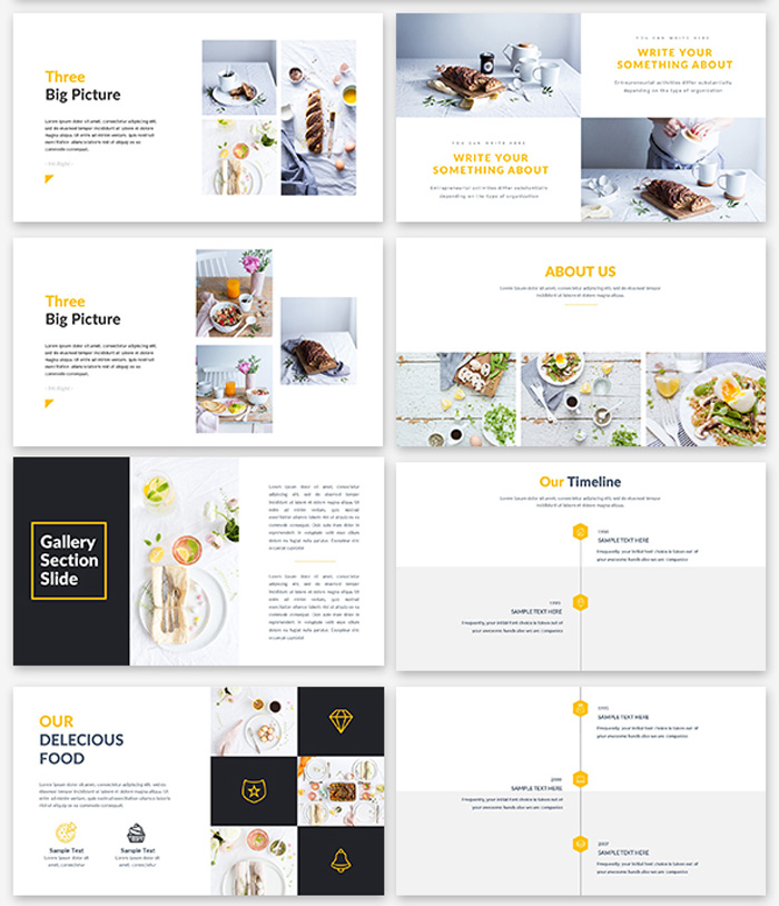 Food Google Slide Template