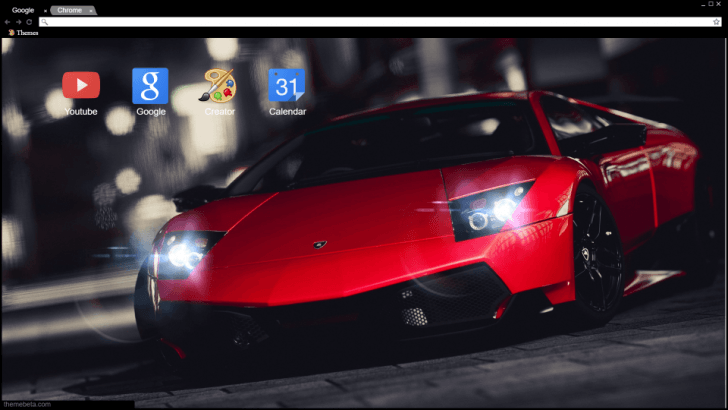Lamborghini Cherry Chrome Theme