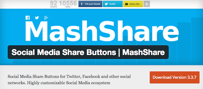 MashShare Social Media Plugins