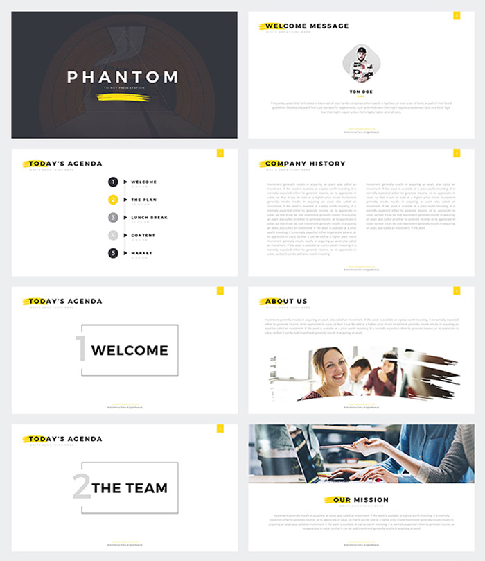 Modern Google Slides Template