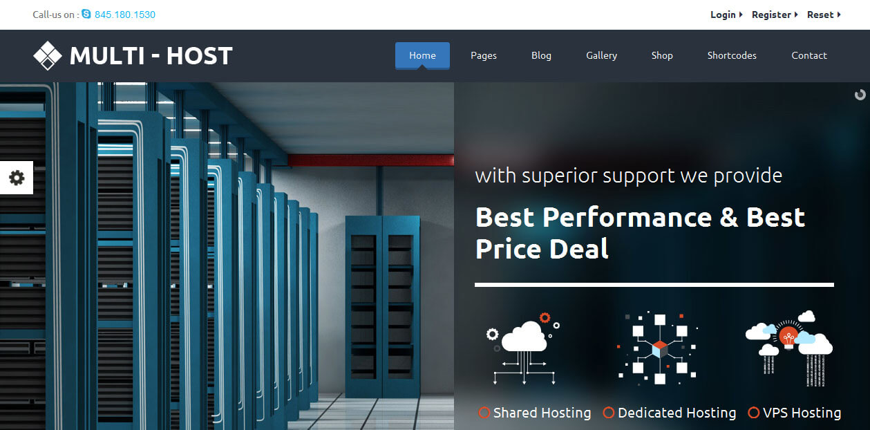 Multi c Web Hosting WordPress