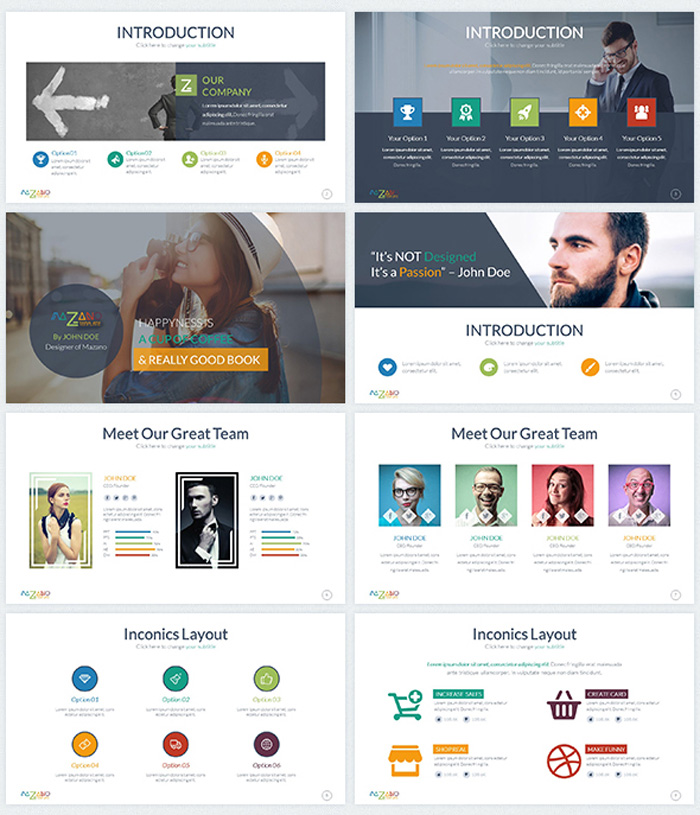 Multipurpose Google Slides Theme