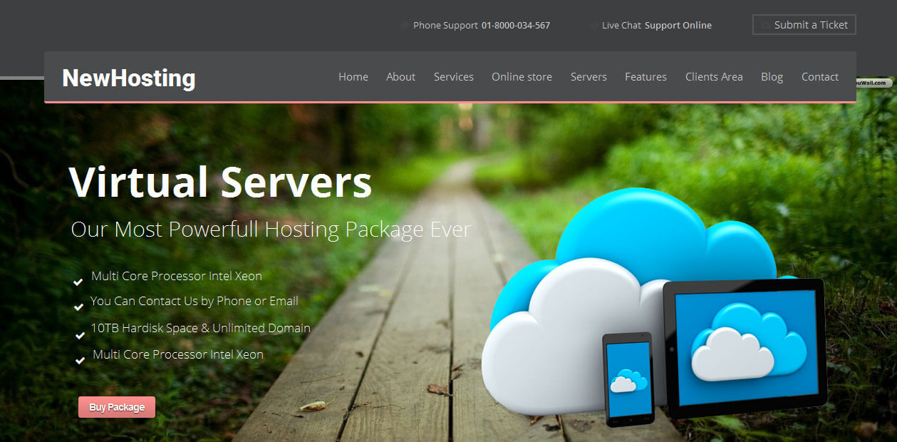 Newhost c Web Hosting WordPress