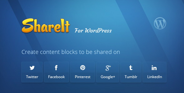 ShareIt Social Media Plugins