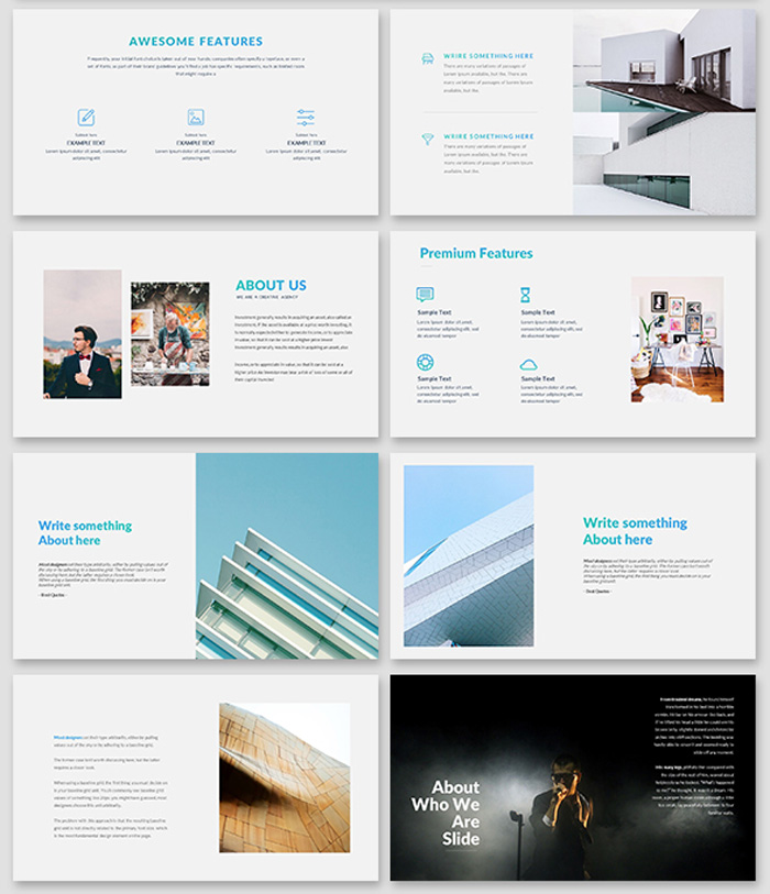 Stunning Google Slide Template