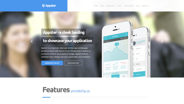 appster Responsive Flat Design Theme
