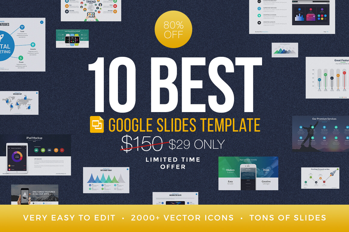 best cover bundle google slides