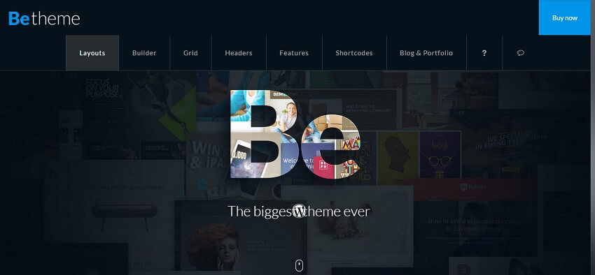 betheme WordPress Business Theme Admin templete (2)