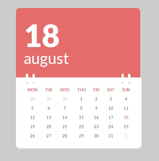 Weekly Calendar Ui : Best free calendar templates in psd vector eps png