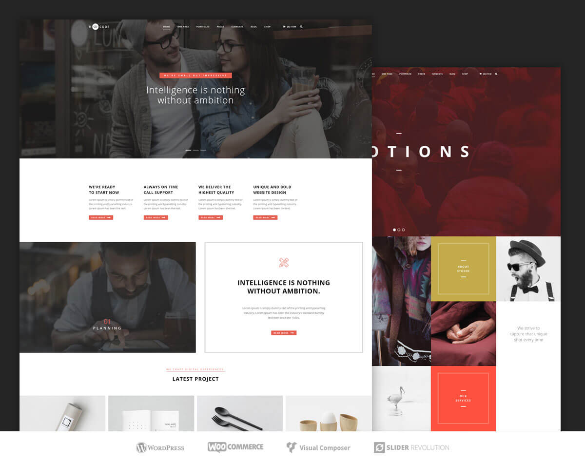 h code Business Theme 2017