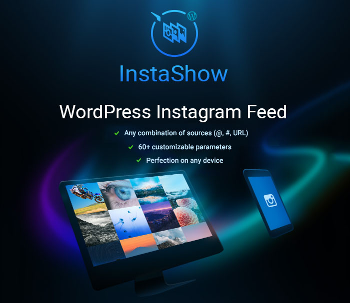instashow feeds Social Media Plugins