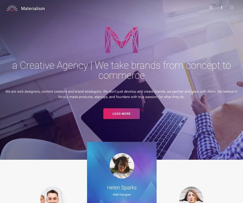 materialism Business Theme 2017
