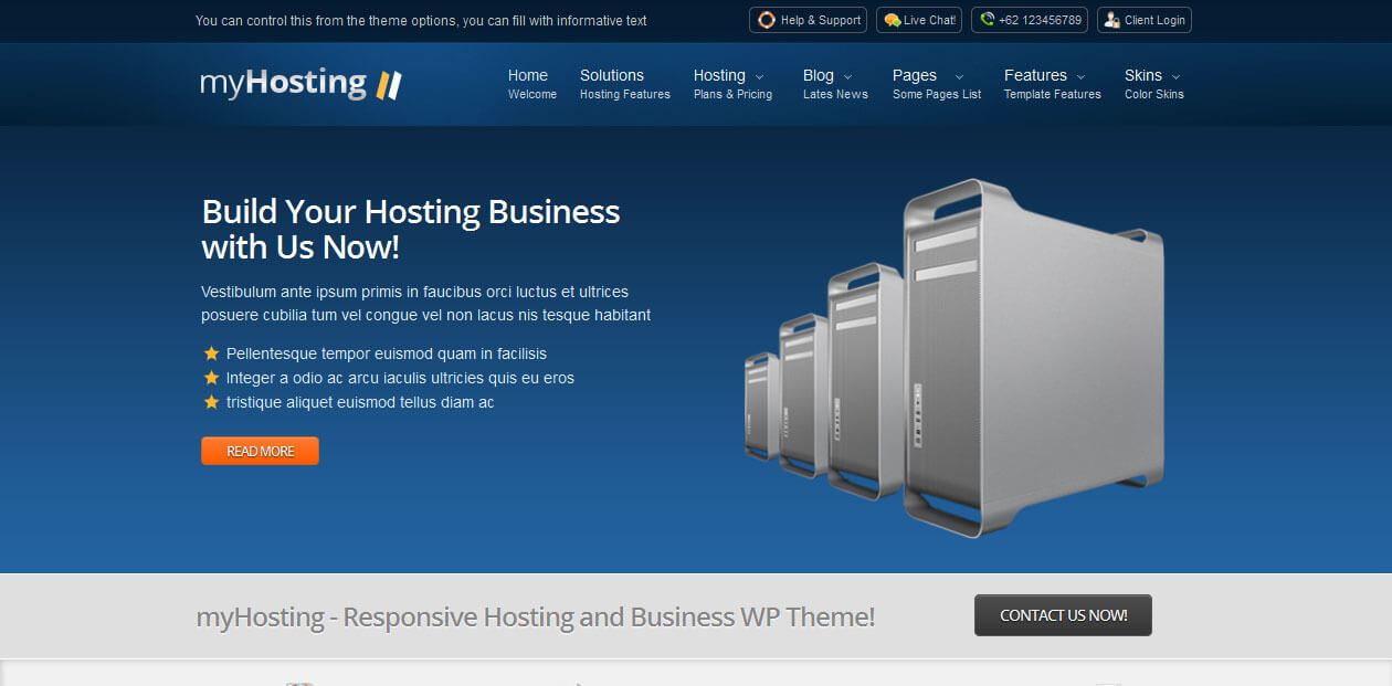 myHosting c Web Hosting WordPress