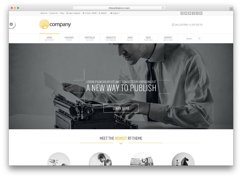 rttheme18 Responsive WordPress Business Theme