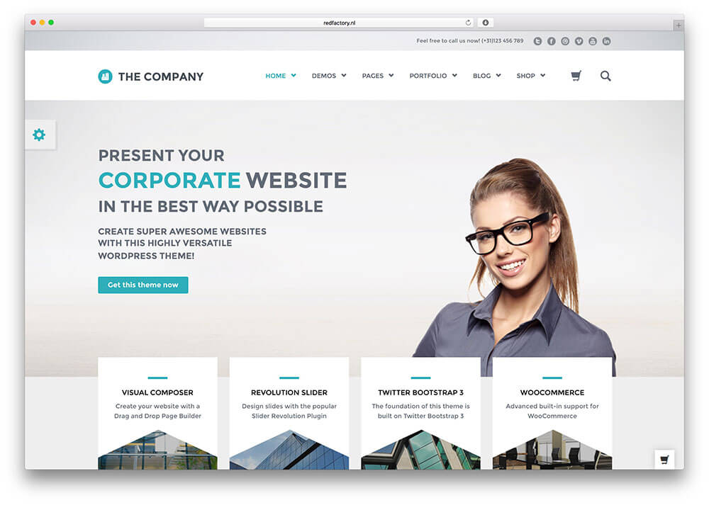 the company Best Responsive WordPress