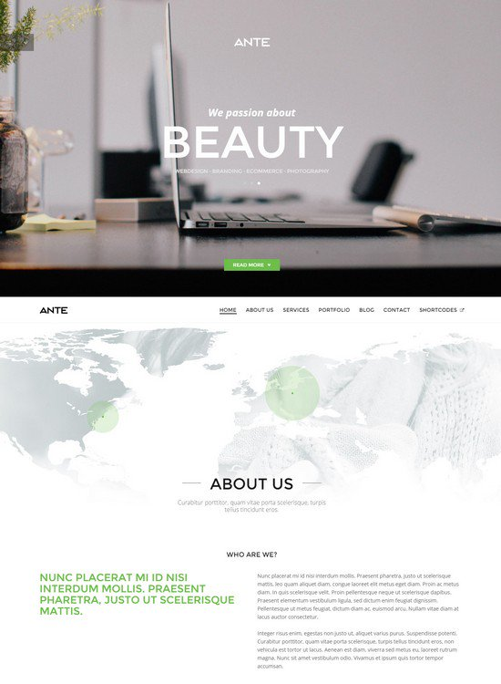 ANTE HTML5 Template