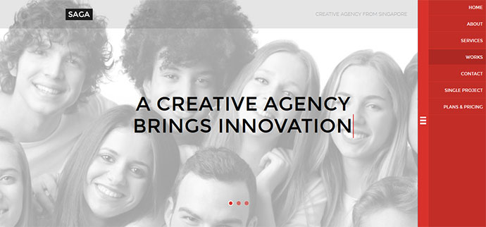 Agency Responsive Parallax