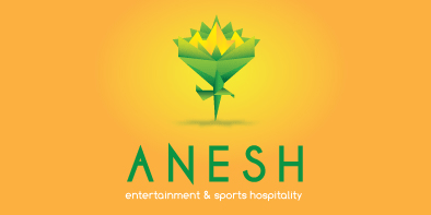 Anesh Origami Inspired Logo Design