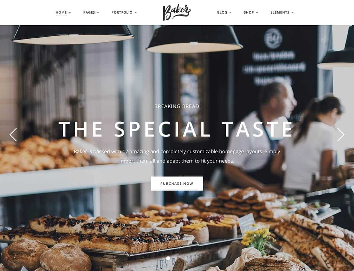 Baker WordPress Theme
