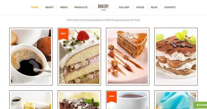 Bakery ThemeForest WordPress Theme