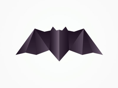 Batman Origami Inspired Logo