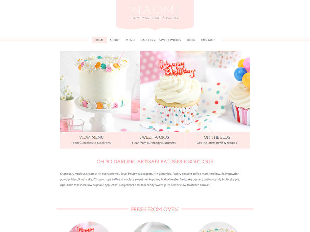 BluChic WordPress Theme