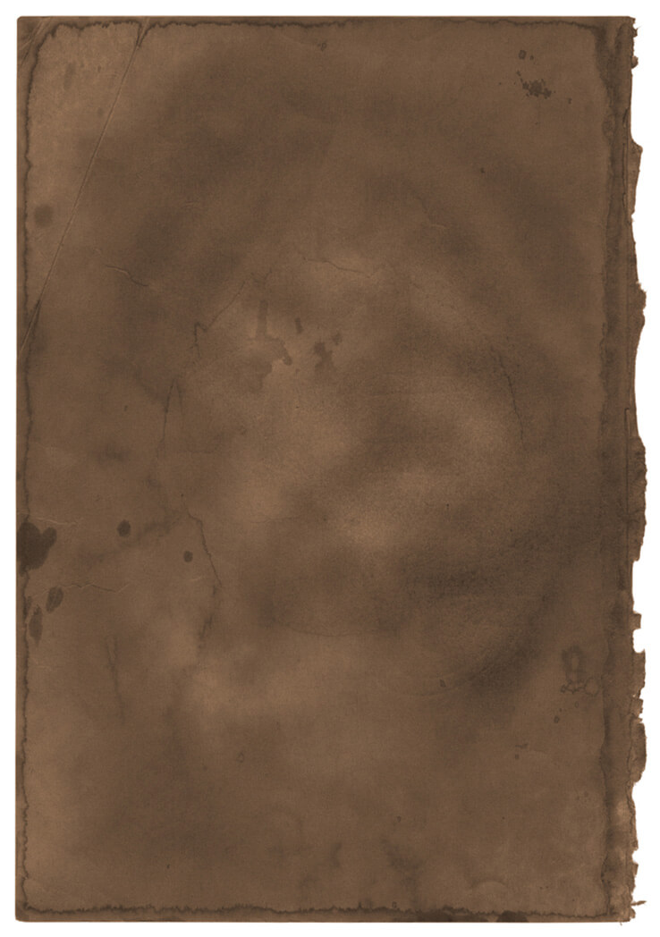 Burnt Brown Paper Texture