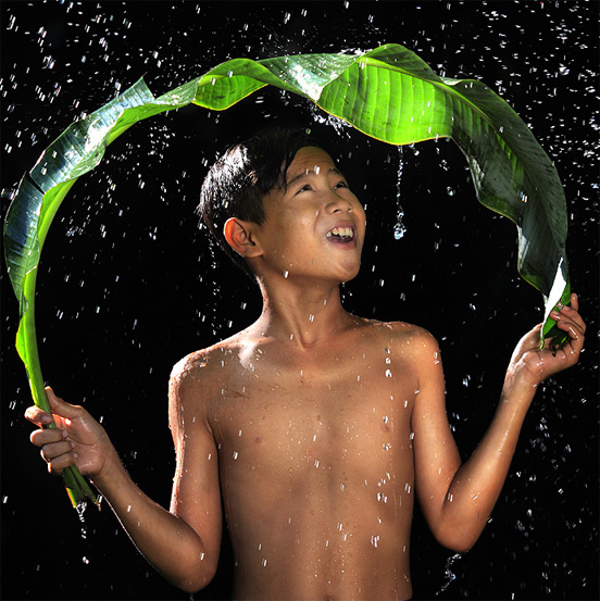Child Fantacy Weather Example of Rain Photography