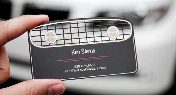 Classic Cut Business Card