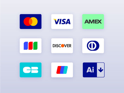 Credit Cards Freebie Icon Set Card Debit