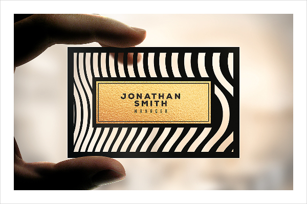 Digital Cut Business Card Design & Idea for Inspiration