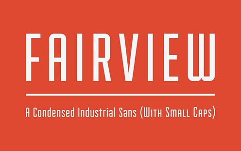 Fairview Free Hipster Font