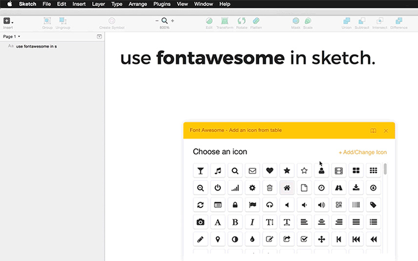 Font awesome plugin Best Free Sketch
