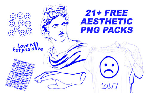 Free Aesthetic PNG Pack Best Free Font