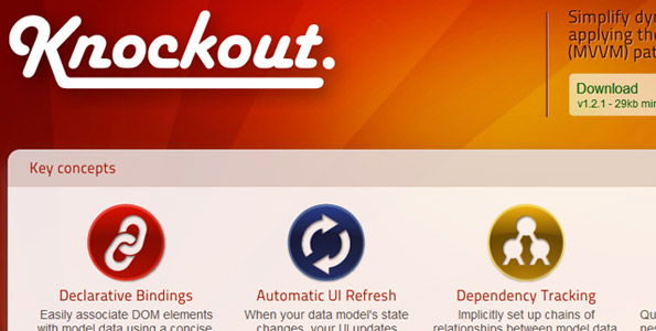 Knockout Best PHP Framework