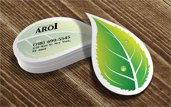 Leaf Card Design & Idea