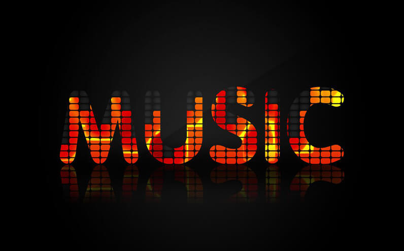 Music Text Effects