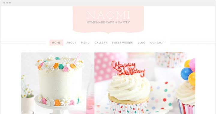 Naomi Coffee Shop WordPress Theme