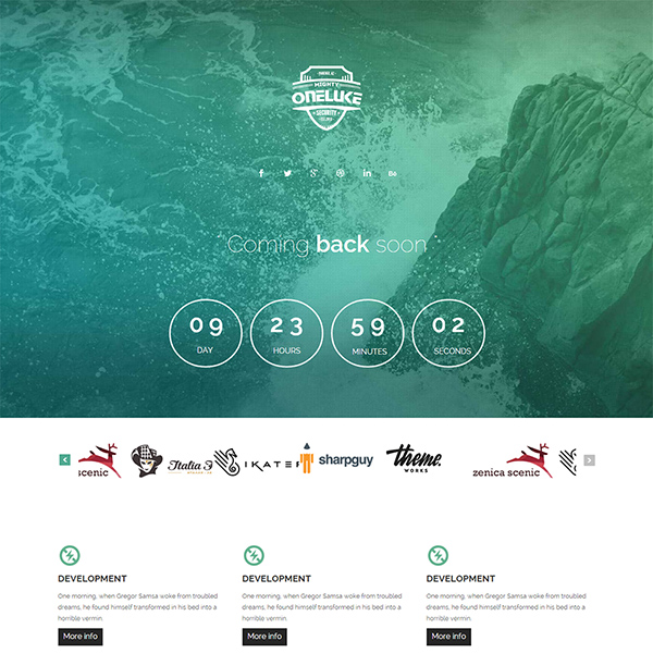 One Luke Construction HTML Website Template