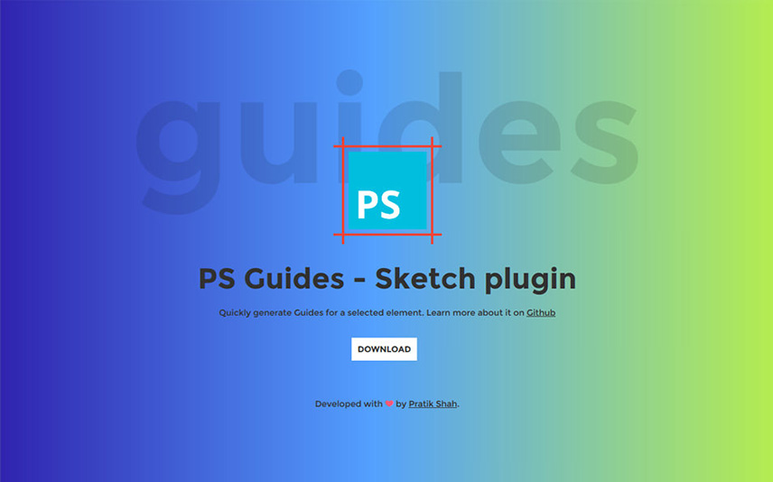PS Guides Sketch App Plugin