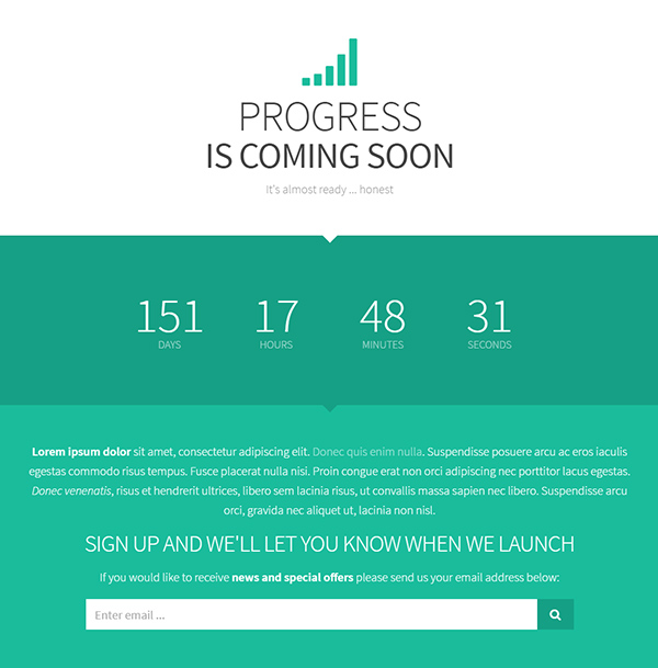 Progress Construction HTML Website Template