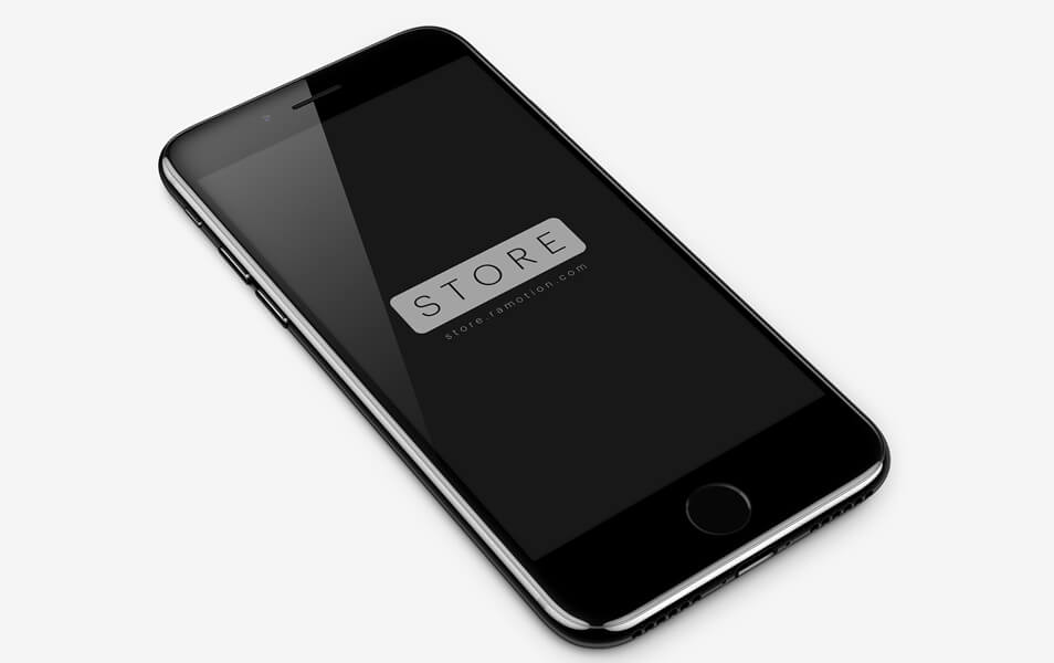 Shade iPhone 7 Jet Black