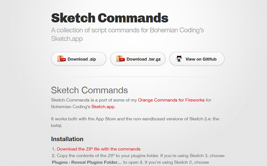 Sketch Commands Best free