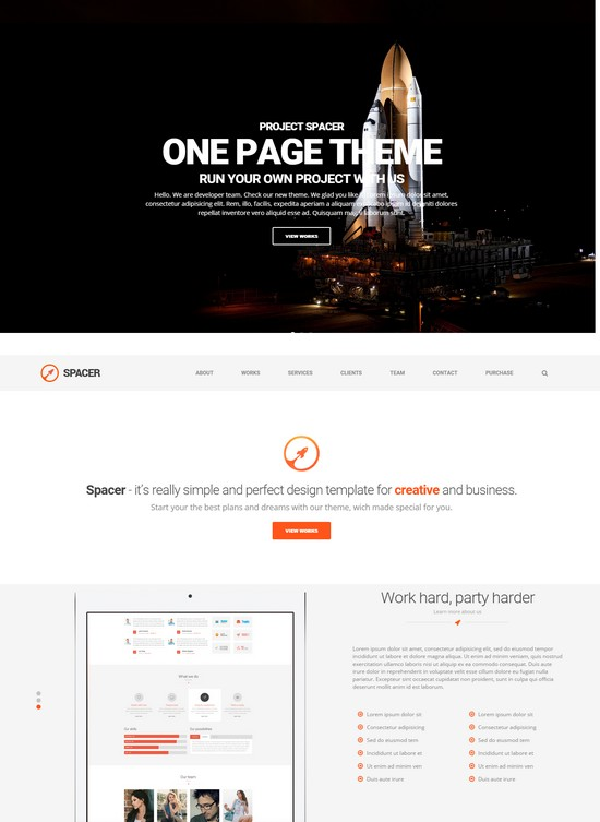 Spacer Best Responsive Parallax