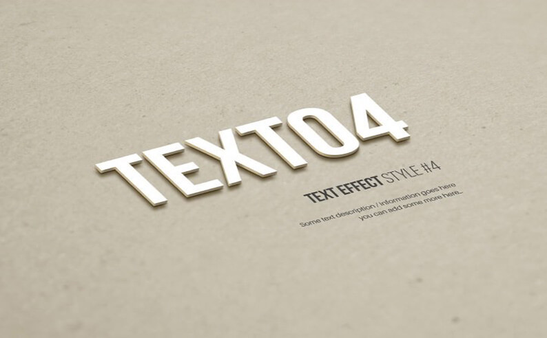 Texto Text Effects