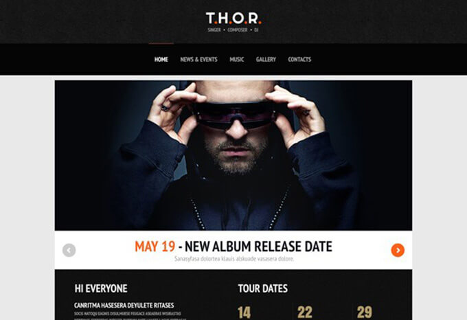 Thor Musicians & Bands